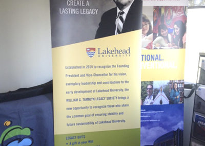 Lakehead University Legacy - Roll-it-up 3